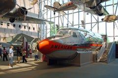Museo del aire nacional y de espacio Imagenes de archivo
