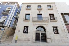 Museo del arte contemporáneo de la ciudad de Alicante Fotografía de archivo libre de regalías