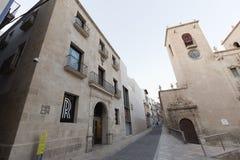 Museo del arte contemporáneo de la ciudad de Alicante Imagenes de archivo