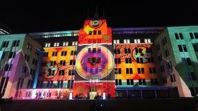 Museo del arte contemporáneo durante Sydney viva Imagen de archivo libre de regalías