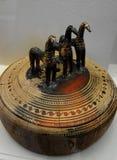 Museo del arte de Cycladic en Atenas fotografía de archivo libre de regalías