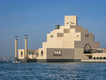 Museo del arte islámico en Doha Imagen de archivo libre de regalías