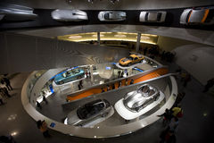 Museo del benz di Mercedes fotografia stock