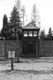 Museo del campAuschwitz di concentrazione, Polonia Fotografia Stock Libera da Diritti