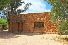 Museo del ccc sul ranch di Posta Quemada della La nel parco colossale della montagna della caverna Fotografia Stock Libera da Diritti