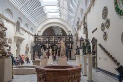 Museo del centro espositivo V&A, Londra Immagine Stock