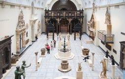 Museo del centro espositivo V&A, Londra Fotografie Stock