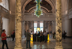 Museo del centro espositivo V&A, Londra Immagini Stock