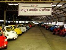 Museo del coche del vintage Foto de archivo libre de regalías