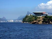 Museo del contemporáneo de Niterói Imagen de archivo