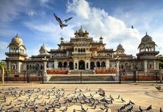 Museo del corridoio di Albert a Jaipur, India immagini stock libere da diritti