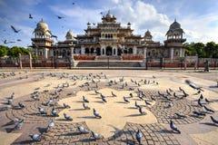 Museo del corridoio di Albert a Jaipur, India fotografie stock