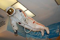 Museo del cosmonauta y de Rocket Technique, traje de espacio fotos de archivo libres de regalías