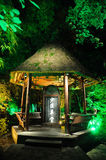 Museo del cottage di Chengdu Du Fu Thatched Fotografia Stock