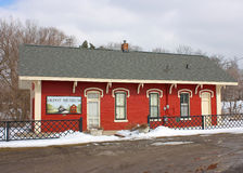 Museo del depósito de tren Foto de archivo libre de regalías