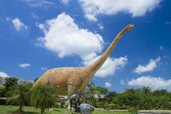 Museo del dinosaurio Fotografía de archivo libre de regalías
