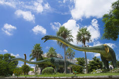 Museo del dinosauro Immagine Stock Libera da Diritti