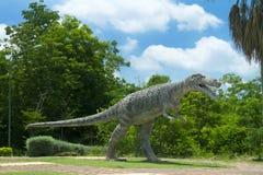 Museo del dinosauro Fotografie Stock Libere da Diritti