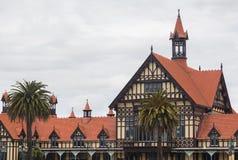 Museo del Distretto di Rotorua e parco NZ di governo Immagini Stock Libere da Diritti