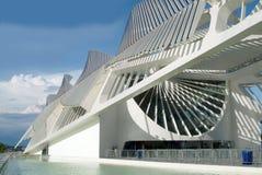 Museo del domani (domani museo) in Rio de Janeiro, Brasile Fotografia Stock