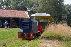 Museo del ferrocarril en Erica, Países Bajos Imagenes de archivo