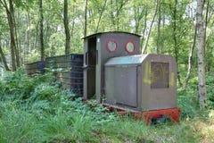 Museo del ferrocarril en Erica, Países Bajos Imagen de archivo