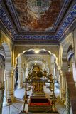 Museo del fuerte de Mehrangarh en Jodhpur, la India fotos de archivo libres de regalías
