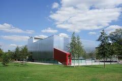 Museo del garage a Mosca fotografia stock