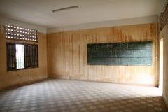 Museo del genocidio de Tuol Sleng en Phnom Penh imagenes de archivo