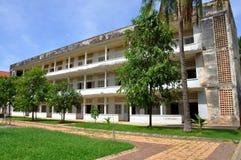 Museo del genocidio de Tuol Sleng, Phnom Penh, Camboya Foto de archivo