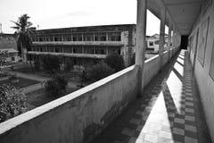 Museo del genocidio de Tuol Sleng s21, Phnom Penh, Camboya Imagen de archivo libre de regalías