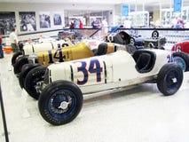Museo del hall of fame di Indianapolis Motor Speedway fotografie stock libere da diritti