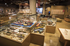 Museo del juguete de Warabekan en Tottori Japón 1 Imágenes de archivo libres de regalías