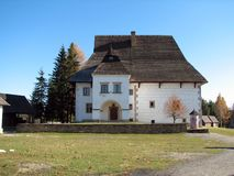 Museo del Liptov Pribylina Fotografie Stock