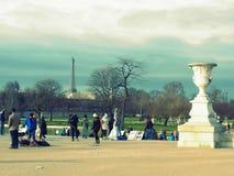 Museo del Louvre, elegante, Parigi, Francia, Europa, entrata, Fotografia Stock