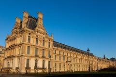 Museo del Louvre, París Imágenes de archivo libres de regalías