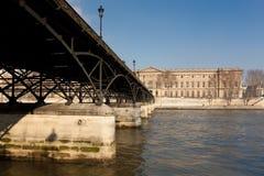 Museo del Louvre, París Fotografía de archivo libre de regalías