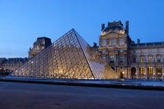 Museo del Louvre a Parigi Francia Immagini Stock