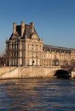 Museo del Louvre, París Fotos de archivo libres de regalías