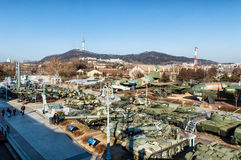Museo del memoriale di guerra della Corea Fotografia Stock