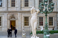 Museo del metropolitano de Nueva York Imágenes de archivo libres de regalías