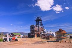 Museo del mondo di estrazione mineraria Fotografie Stock Libere da Diritti