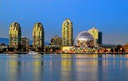 Museo del mundo de la ciencia de Vancouver Imagen de archivo libre de regalías