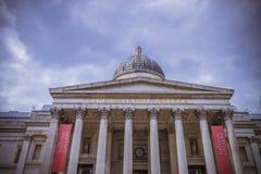 Museo del National Gallery en Londres Imágenes de archivo libres de regalías