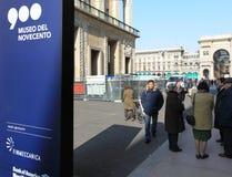 Museo del Novecento Royalty Free Stock Photos
