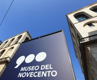 Museo del Novecento Royalty Free Stock Image