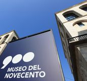 Museo del Novecento Royalty Free Stock Images