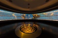 Museo del Oro guld- museum Bogota Colombia Fotografering för Bildbyråer