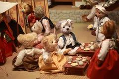 Museo del oso del peluche Imagenes de archivo