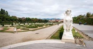 Museo del palacio del belvedere en Viena, Austria Foto de archivo